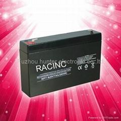 6V7AH storage lead acid battery for children's toy car