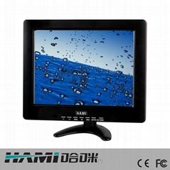 哈咪12寸工业级高清安防专用液晶显示器