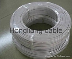 Power Cord With Plug Flexible Copper/ Copper Cald Aluminum Electrical Wires(PVC