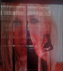 Flexible led curtain display