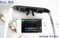我佳直銷 72英吋iPhone數碼視頻眼鏡