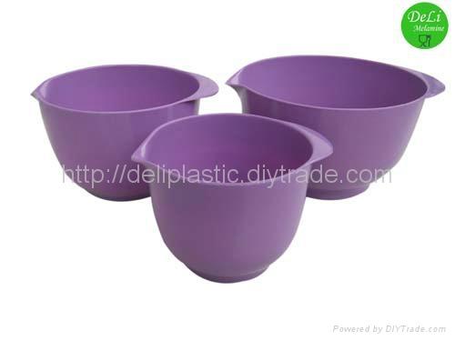 Melamine salad bowl/round shape bowl 4