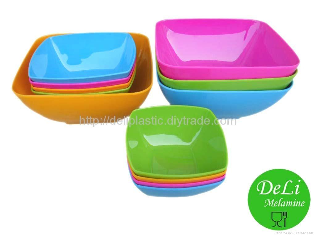 Melamine salad bowl/round shape bowl 5