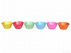 6'Melamine salad bowl/ plastic bowl