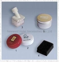 Disposal Hotel shoe sponge shoe polisher mitts