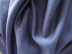 100% polyester eyelet fabric for T-shirt and football wear
