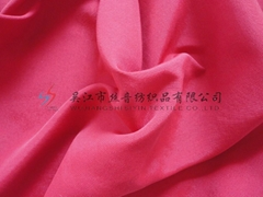 Red 228T dull nylon stripe taslan fabric