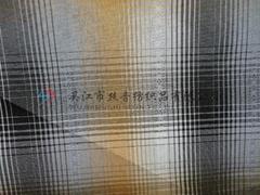 gradual change check striped yarn dyed fabric for shirt