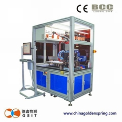 card making Implant and Weld Combi-Machine