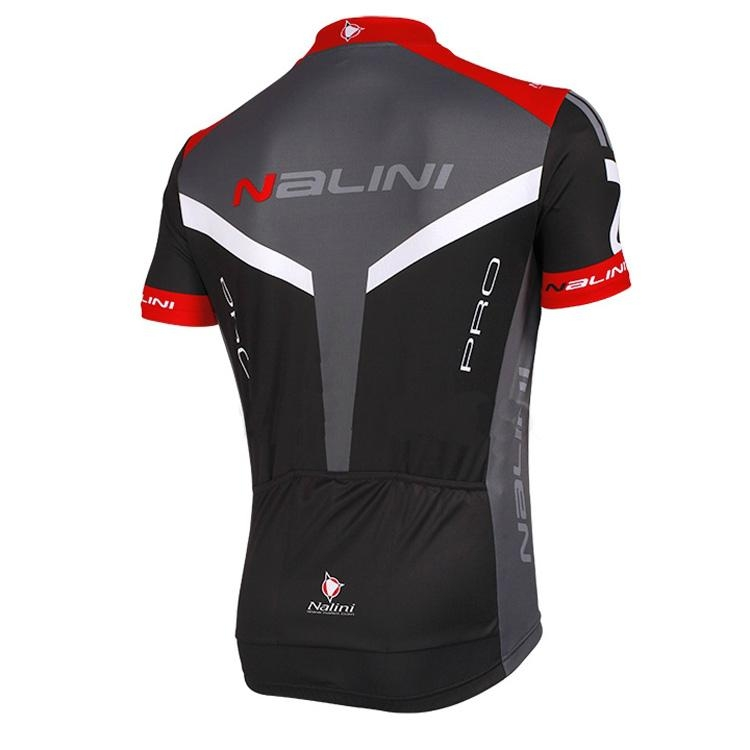 NALINI PRO Camedrio Cycling Jersey black-grey-red 2
