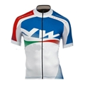 NORTHWAVE Extreme Graphic Short Sleeve Jersey white-blue 1