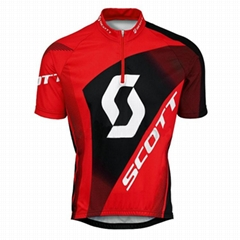 Custom  Authentic Cycling Short Sleeve Jersey