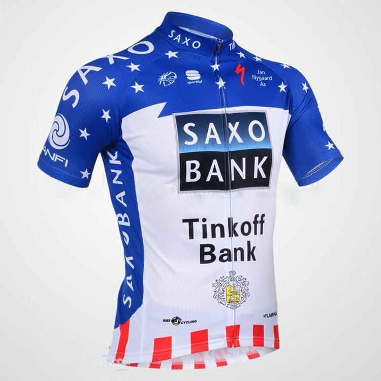 2013 Saxobank Captivate Short Sleeve Cycling Jersey and Cycling Short Kit 1