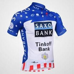 2013 Saxobank Captivate Short Sleeve Cycling Jersey and Cycling Short Kit