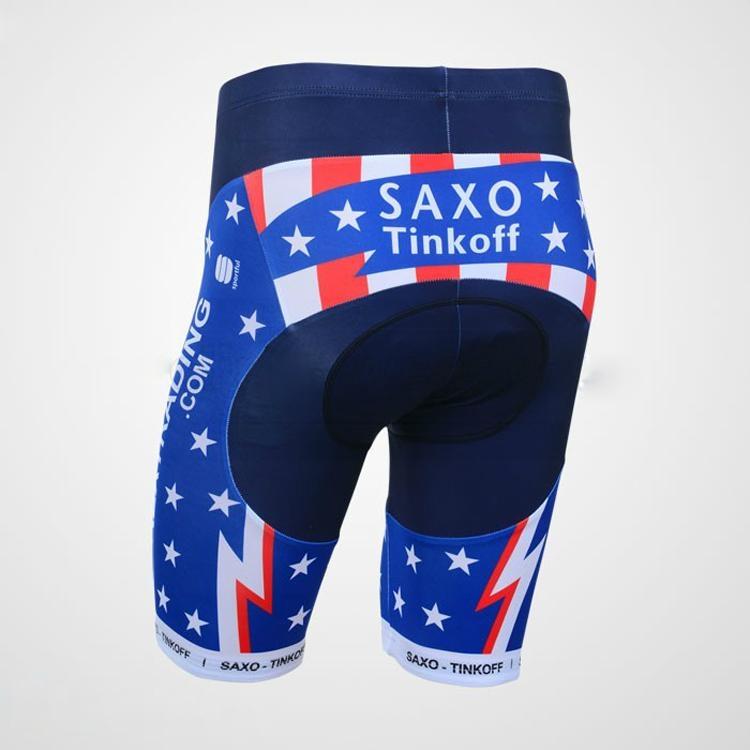 2013 Saxobank Captivate Short Sleeve Cycling Jersey and Cycling Short Kit 4