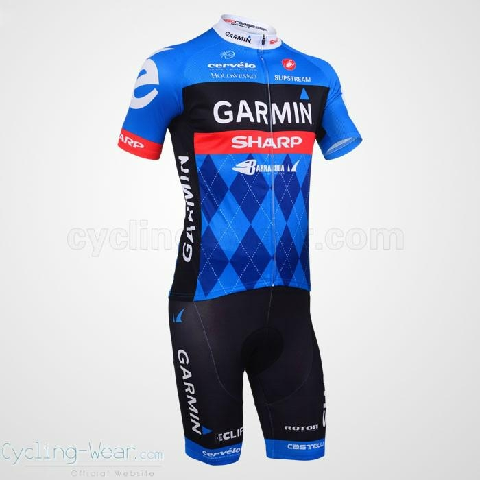 2013 Cycling Short Sleeve Jersey and Short Cycling Team Kit 5