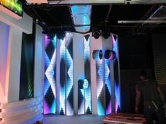 LED折疊彩幕