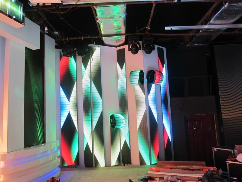 LED折疊彩幕 2