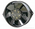 17055 high temperature resisted AC all metal axial fan