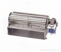 AC cross flow fan searial 30~65mm rotor
