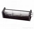 DC cross flow fan searila 30~65mm rotor size available 4