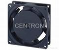 8025 AC axial fan 80*80*25mm plastic fan