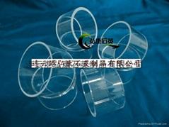 Quartz sheath (single crystal furnace graphite electrode protection)