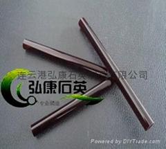 Red quartz tubes,quartz glass tubes