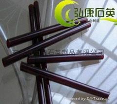 Red /ruby quartz glass tubes,quartz tubes