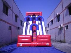 2013 newest design inflatable slide