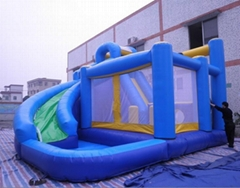 Hot kids inflatable combo with pool