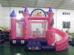 Inflatable Princess Castle Slide Combo