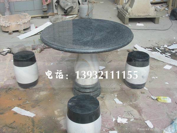 石雕桌椅 1