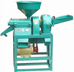 Combined Rice Mill and Powder Hammer