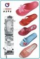 women'spvc air blowing slipper shoe mold