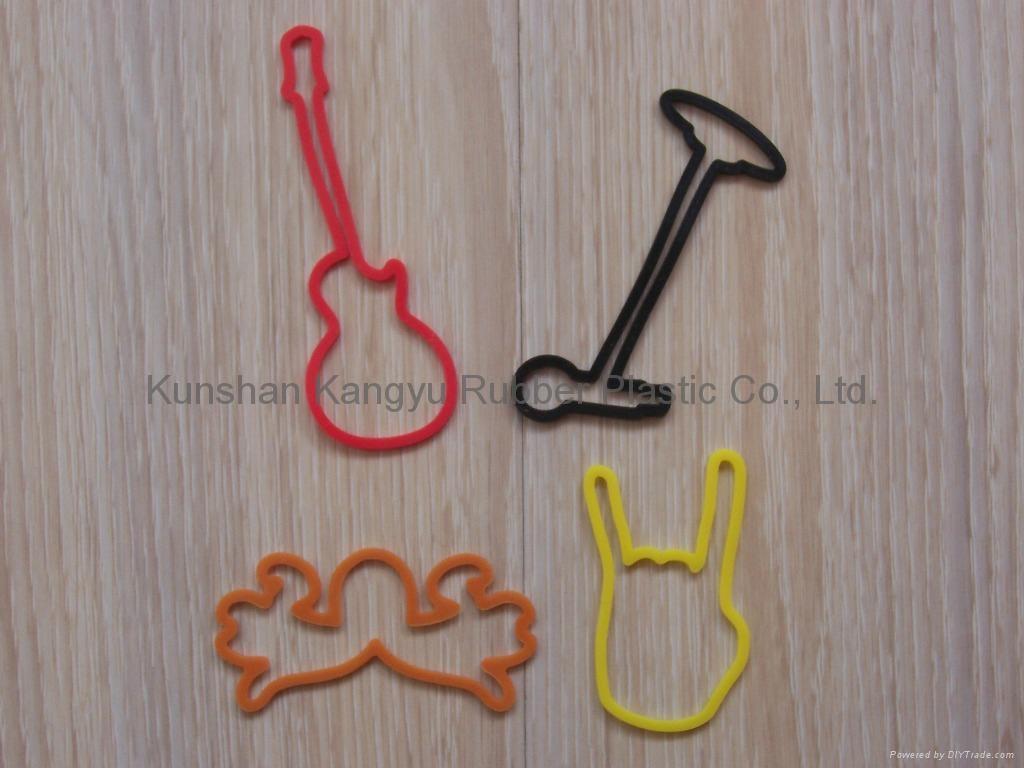 Silicone rubber band 1