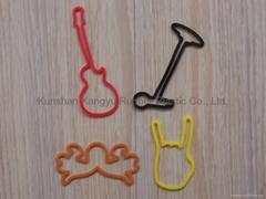 Silicone rubber band
