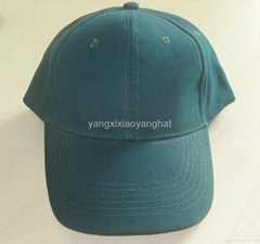 陽西曉陽帽袋廠供應純棉光身高檔棒球帽鴨舌帽