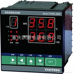 三路溫濕度控制器