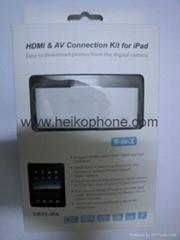 HDMI&AV Connection Kit for iPad 6 in 1