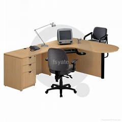 latest metal frame office table design