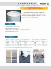 Fiberglass Carpet Tissue