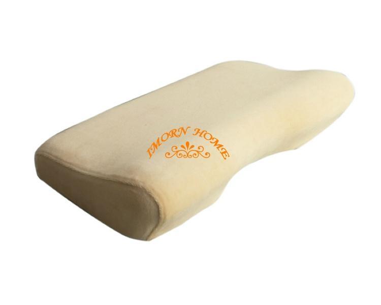 manufacturer supply moulded visco elastic memory foam curve pillow  1
