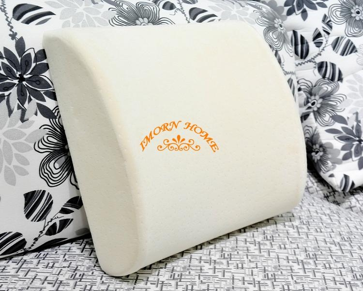 Moulded Visco Elastic Memory Foam Pillow Office Chair Lumbar Support Cushion 1