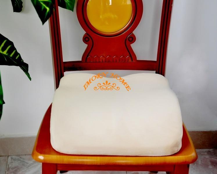 Moulded Visco Elastic Memory Foam Pillow Comfortable Seat Cushion 3