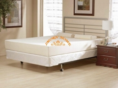 High quality Visco-elastic Memory foam home topper and hotel mattress