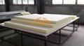 High quality Visco-elastic Memory foam home topper and hotel mattress 4