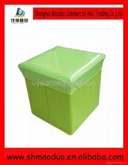 Folding Storage Stool non woven fodable sit box