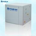 Sanitary Water Air Source Heat Pump For Underfloor Heating