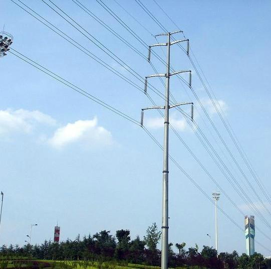 Power Transmission Line Monopole Tower - megatro (China